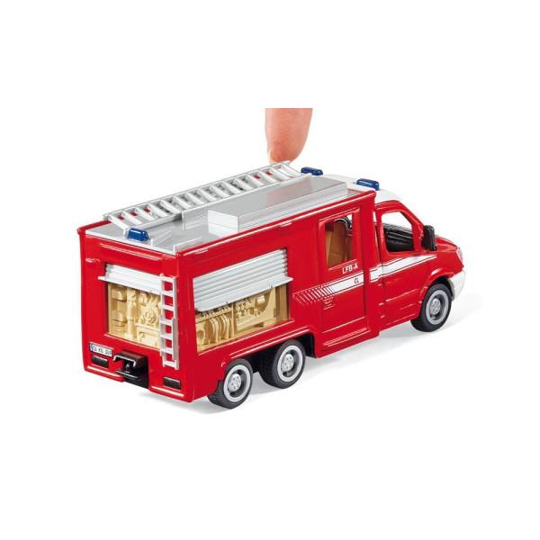 2113 Siku Super Mercedes Sprinter Feuerwehr 1:50 Einsatzfahrzeug NEU