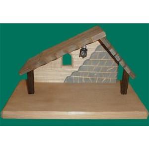 Krippenhaus für 9cm Krippe