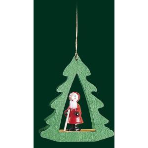 Christbaumschmuck Bäume mit Nikolaus Baumbehang Weihnachtsbaum Seiffen NEU 13417