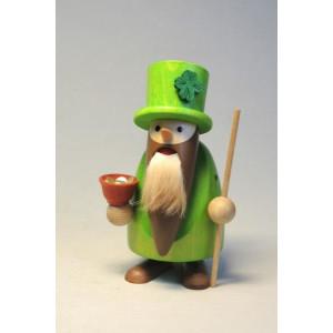 Nussknacker Langbart Leprechaun 11 cm Weihnachtsfigur Seiffen NEU