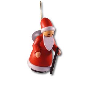 Baumbehang Weihnachtsmann bunt HxBxT 7x3x4cm NEU