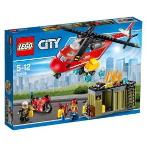 LEGO® City Fire 60108 Feuerwehr-Löscheinheit NEU