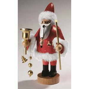 Räucherfigur Santa Claus, rot, groß 37 cm NEU