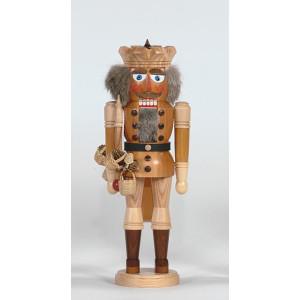 Nußknacker König mit Zepter Höhe= 38cm NEU