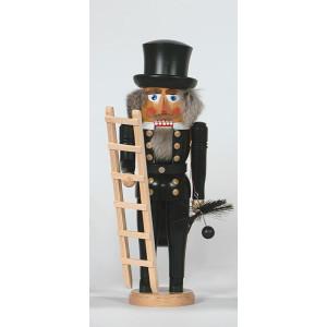 Nußknacker Essenkehrer mit Leiter Höhe= 40cm NEU