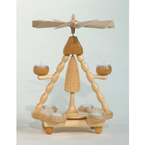 Teelichtpyramide Ohne Figuren zum selbst bestücken Höhe= 36cm NEU