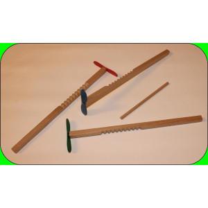 "Holzspielzeug Knobelspiel ""Hui Hui"" Länge 26 cm NEU"