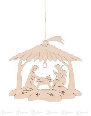 Baumschmuck Behang Christi Geburt Höhe ca 9 cm NEU