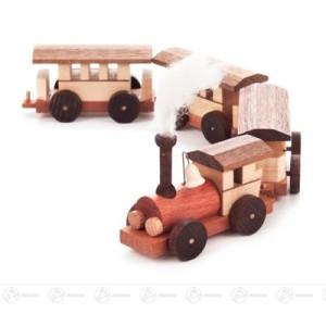 Spielzeug Mini-Eisenbahn mit Dampf Höhe ca 6 cm NEU