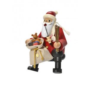 Räuchermann Kantenhocker Weihnachtsmann Höhe ca 15cm NEU