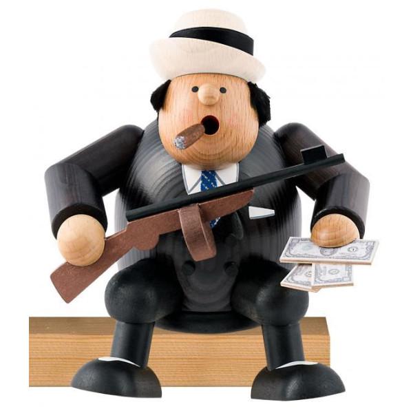 Räuchermann Al Capone Höhe ca 15cm NEU