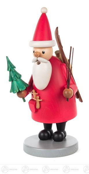 Räuchermann Weihnachtsmann Höhe = 26cm NEU
