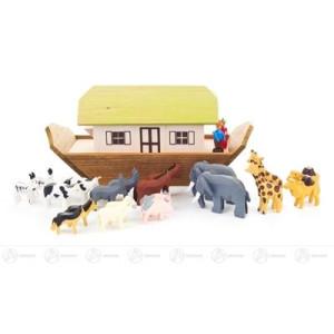 Miniatur Arche Noah klein BxHxT = 18x9x6cm NEU