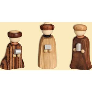 Miniatur Heiligen Drei Könige HxBxT = 7x3x3cm NEU