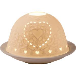 Dome Light Herz H = 10cm Ø 12cm NEU