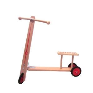 Holzspielzeug Holzroller mit Sitzbank Maße: L/H 62cm/ 63cm NEU