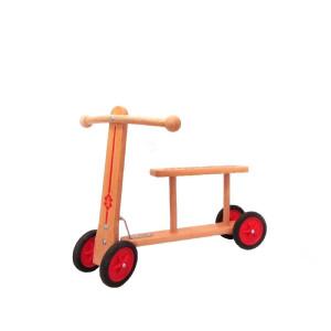 Holzspielzeug Lauflernroller Maße: L/B/H 44cm/ 14cm/ 40cmSitzhöhe 24cm NEU