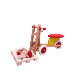 Holspielzeug Kindergabelstapler Maße: L/B/H 71cm/ 30cm/ 40cm NEU