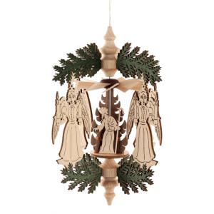 Wärmespiel Weihnachtskranz Engel BxHxT = 10x12,5x10cm NEU
