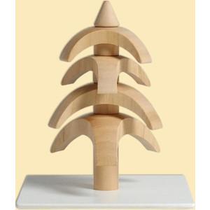 Tischdekoration Drehbaum Kirschbaum natur HxBxT = 8x7x7cm NEU