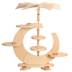 Designpyramide ohne Bestückung mit Teelichter HxLxB 78x80x52cm NEU