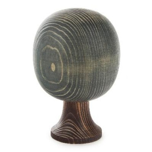 Baum Massivholzbaum runde Form grün BxHxT 100x160x100mm NEU