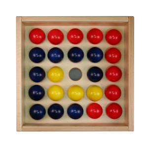 Holzspielzeug Kugelspiel Jumping Balls 24 Stück LxBxH 210x210x60mm NEU