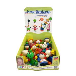 Babyspielzeug Display mit 14 kleinen Clipfiguren BxLxH 70x40x160mm NEU