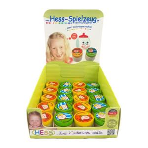 Babyspielzeug Display mit 20 Zahndöschen BxLxH 40x40x35mm NEU