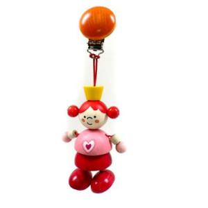 Babyspielzeug Clipfigur Prinzessin BxLxH 75x40x180mm NEU