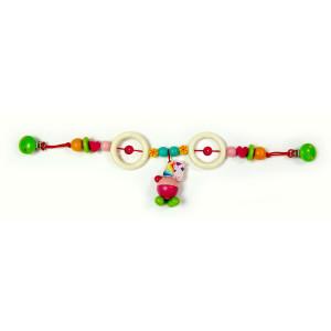 Babyspielzeug Kinderwagenkette Einhorn BxLxH 520x40x140mm NEU