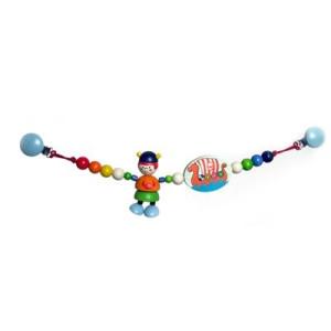 Babyspielzeug Kinderwagenkette Arne der Wickinger BxLxH 520x45x100mm NEU
