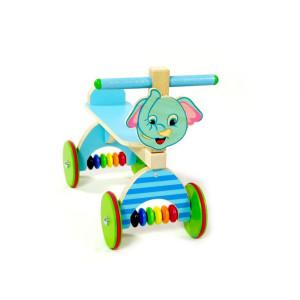 Holzspielzeug Rutscher Elefant blau BxLxH 410x190x340mm NEU