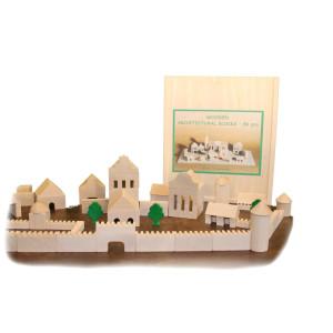 Holzspielzeug Architekturbaukasten 86 BxHxT 25,5x29x4,5cm NEU
