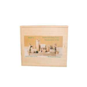 Holzspielzeug Burgbaukasten BxHxT 25,5x29x4,5cm NEU