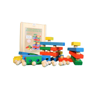 Holzspielzeug Balancebaukasten bunt BxHxT 21x17x4,5cm NEU