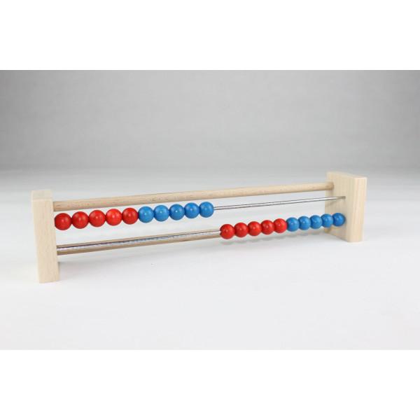 Lernspielzeug Zählrahmen 20 BxH 29x6cm NEU