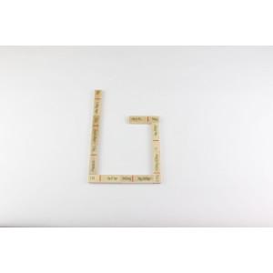 Lernspielzeug Rechendomino Masse BxHxT 20x16,5x3cm NEU