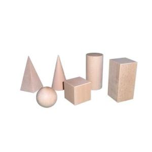 Lernspielzeug Raumkörpersatz geometrische Körper BxHxT 5x5x5cm NEU