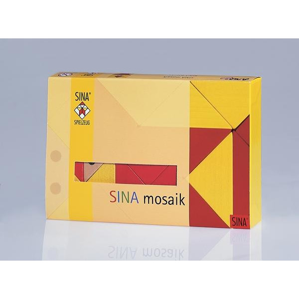 Holzspielzeug Mosaik Legespiel LxBxH 170x110x30mm NEU