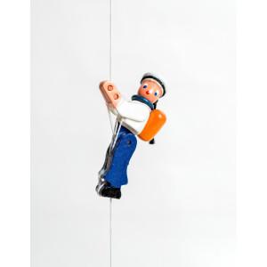 Holzspielzeug Kletterfigur Matrose Höhe=6,5 (Kletterseil ca 45 cm)cm NEU