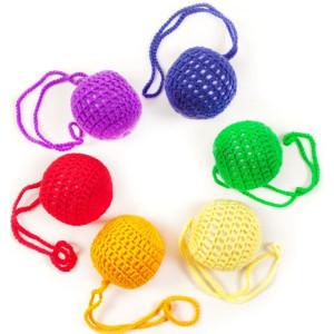 Babyspielzeug Weiches Babybällchen Violett Ø 50mm NEU