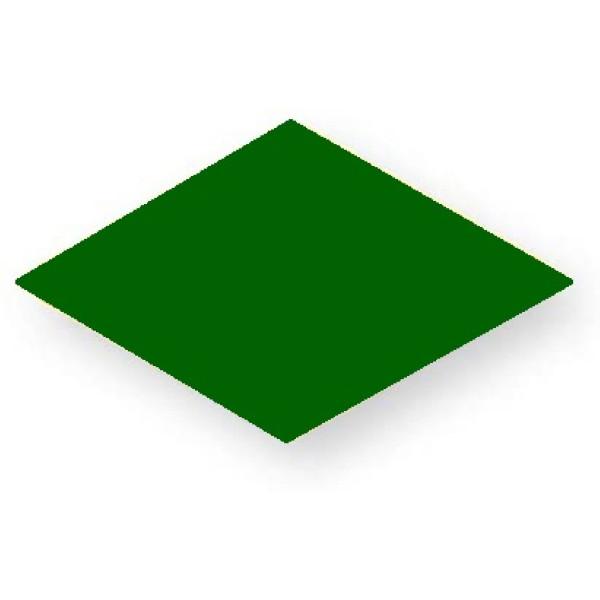 Holzspielzeug Legematerial Raute Grün 500 Stück LxB 25x25mm NEU